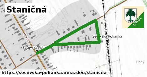 ilustrácia k Staničná, Sečovská Polianka - 691m