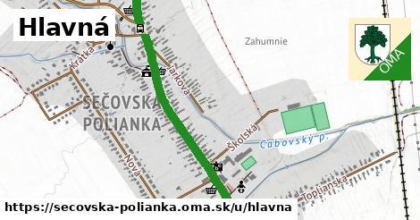 ilustrácia k Hlavná, Sečovská Polianka - 2,4km