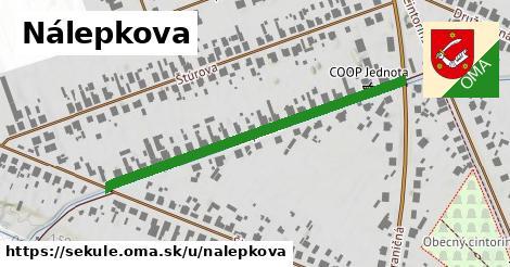 ilustrácia k Nálepkova, Sekule - 464m