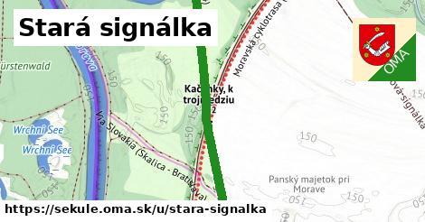 ilustrácia k Stará signálka, Sekule - 2,2km