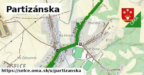 ilustrácia k Partizánska, Selce - 2,2km