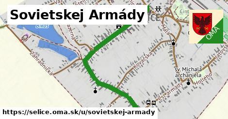 ilustrácia k Ulica Sovietskej armády, Selice - 1,07km