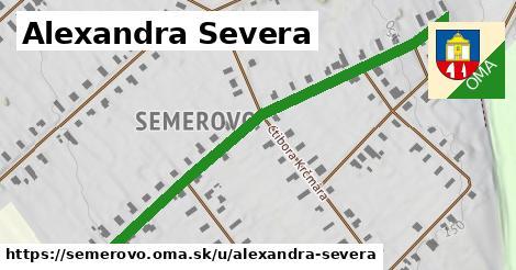 ilustrácia k Alexandra Severa, Semerovo - 667m