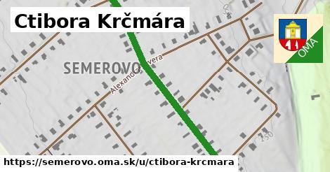 ilustračný obrázok k Ctibora Krčmára, Semerovo