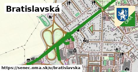 ilustračný obrázok k Bratislavská, Senec