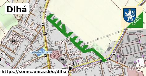 ilustrácia k Dlhá, Senec - 1,28km