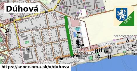 ilustrácia k Dúhová, Senec - 451m