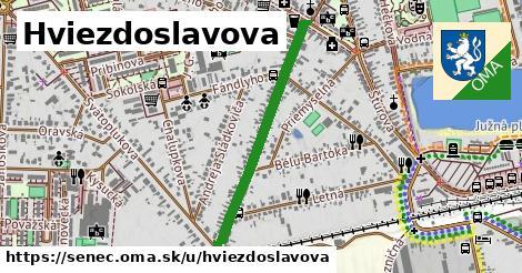 ilustrácia k Hviezdoslavova, Senec - 0,71km