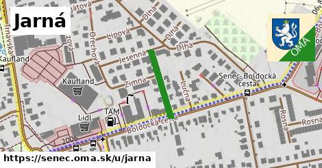 ilustrácia k Jarná, Senec - 165m