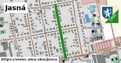 ilustrácia k Jasná, Senec - 345m