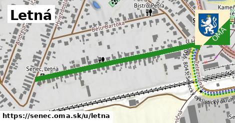 ilustrácia k Letná, Senec - 530m