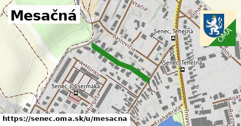 ilustrácia k Mesačná, Senec - 207m