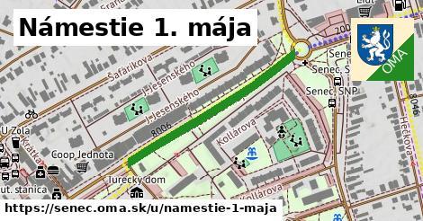 ilustrácia k Námestie 1. mája, Senec - 353m