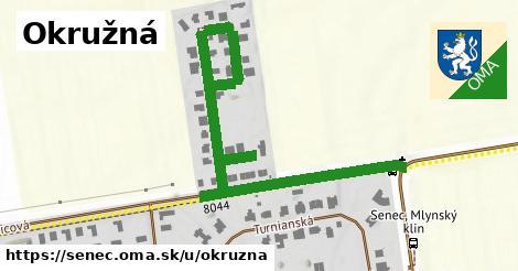 ilustrácia k Okružná, Senec - 450m