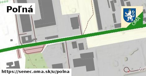 ilustrácia k Poľná, Senec - 1,00km
