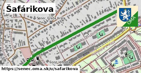 ilustrácia k Šafárikova, Senec - 0,72km