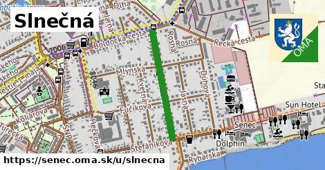 ilustrácia k Slnečná, Senec - 519m