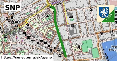 ilustračný obrázok k SNP, Senec