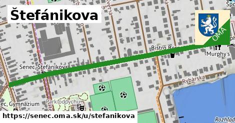 ilustrácia k Štefánikova, Senec - 0,72km