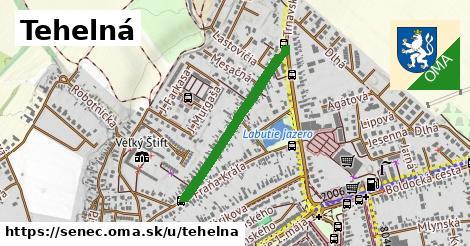 ilustrácia k Tehelná, Senec - 598m