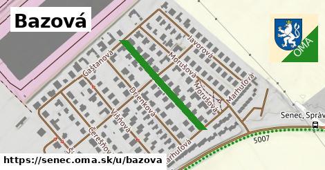 ilustrácia k Bazová, Senec - 273m