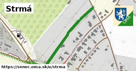 ilustrácia k Strmá, Senec - 428m