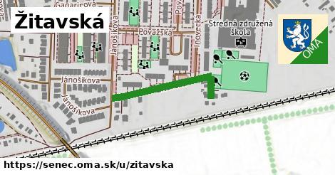 ilustrácia k Žitavská, Senec - 275m