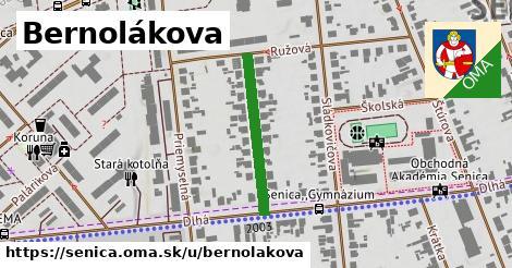 ilustrácia k Bernolákova, Senica - 233m