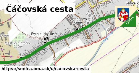 ilustrácia k Čáčovská cesta, Senica - 2,1km