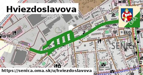 ilustrácia k Hviezdoslavova, Senica - 1,59km