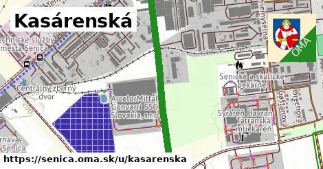 ilustrácia k Kasárenská, Senica - 0,92km