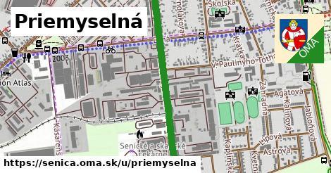 ilustrácia k Priemyselná, Senica - 1,09km