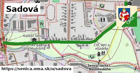 ilustrácia k Sadová, Senica - 0,77km