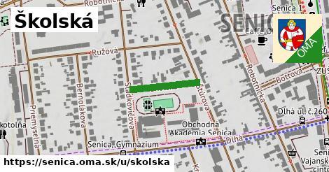 ilustrácia k Školská, Senica - 159m