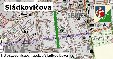 ilustrácia k Sládkovičova, Senica - 488m
