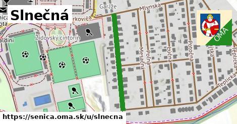 ilustrácia k Slnečná, Senica - 303m