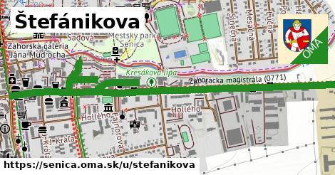 ilustrácia k Štefánikova, Senica - 1,80km