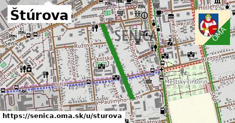 ilustrácia k Štúrova, Senica - 511m