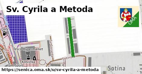 ilustrácia k Sv. Cyrila a Metoda, Senica - 207m