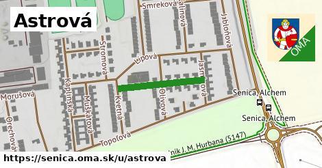 ilustrácia k Astrová, Senica - 200m