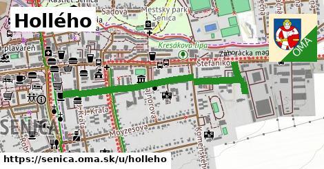Hollého, Senica