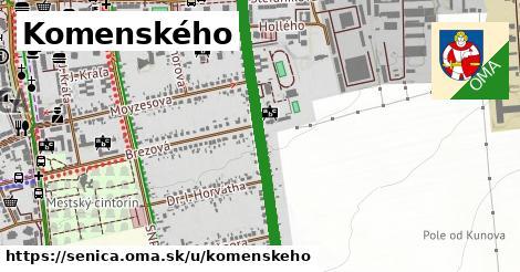 Komenského, Senica
