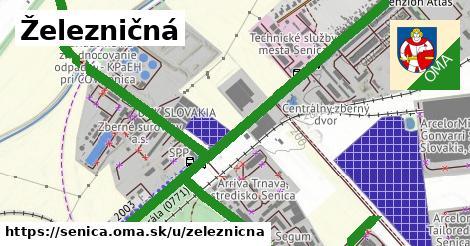 ilustrácia k Železničná, Senica - 1,94km