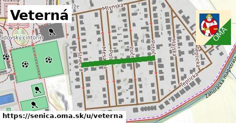 ilustračný obrázok k Veterná, Senica