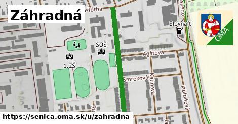 ilustrácia k Záhradná, Senica - 345m