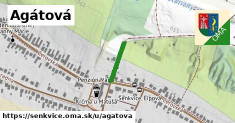 ilustrácia k Agátová, Šenkvice - 136m