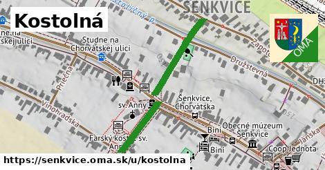 ilustrácia k Kostolná, Šenkvice - 353m
