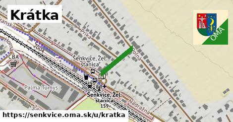 ilustrácia k Krátka, Šenkvice - 129m