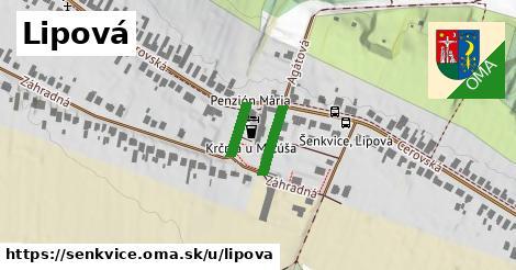 ilustrácia k Lipová, Šenkvice - 187m