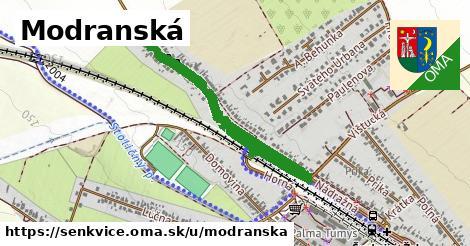ilustračný obrázok k Modranská, Šenkvice